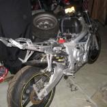 Yamaha R6 díly