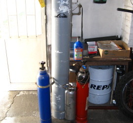 NOS plnění plynu
